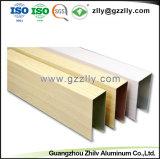 Material de construção de alta qualidade limite do Defletor de alumínio para decoração comercial
