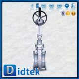 Le volant de commande de Didtek a bridé soupape à vanne de l'acier inoxydable Ck20 d'extrémités