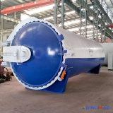 autoclave de goma horizontal certificada ASME de Vulcanizating de la calefacción de vapor de 3200X6000m m