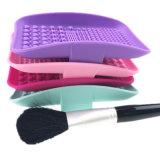 Het schoonmaken van Reinigingsmachine van de Make-up van het Silicone van Hulpmiddelen de Rechthoek Gevormde voor Schoonmakende Borstel