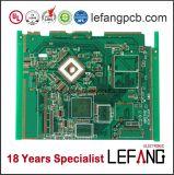 O PCB da placa de circuito impresso personalizado para o computador de administração