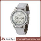 Qualitäts-automatische Uhr-Armbanduhr für Mann-Fantasie-Vorwahlknopf-analoge Uhren