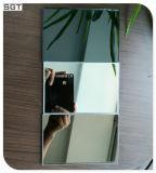 gris claro/el bronce de 6m m endureció el espejo reflejado Mirastar de Splashback