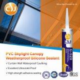 Produits extérieurs en verre de silicones de puate d'étanchéité de PVC