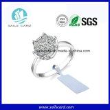 Étiquette faite sur commande de bijou d'IDENTIFICATION RF de qualité pour des systèmes de bijou