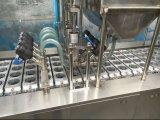 Relleno del jugo del agua de taza y máquina automáticos del lacre