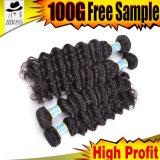 Значение человеческих волос бразильянина 100% для деньг