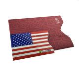 Heet Amazonië verkoopt Pakket in Reeksen 10+2 Blokkerende Kokers van de Houder RFID van het Paspoort van de Creditcard