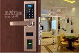 Biometrische Fingerabdruck-Tür-Verschlüsse steuern kommerziellen intelligenten Tür-Verschluss mit Karte automatisch an, der geöffnete Schlüssel