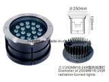 LED de alta potencia 36W de luz exterior enterrada con 3 años de garantía
