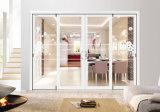 Европейский классический сдвижной двери с закаленного стекла