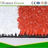 Tennis de rouge de l'herbe haute densité pour un court de tennis