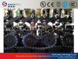 La combinación Southtech pasando plano y vidrio templado de flexión de la Cruz de la máquina (NTPWG)