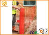Rete fissa di plastica arancione Anti-UV della barriera di controllo di folla dell'HDPE