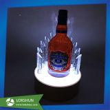 싱크대 진열대를 점화하는 포도주 소매점 LED