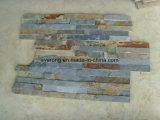 Vente chaude de l'ardoise de la Culture de la culture de l'Ardoise naturelle Pierre Rusty pour revêtement mural