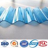 100%serre plastique Lexan couvrant les feuilles d'onde en carton ondulé en polycarbonate transparent