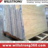 comitato di alluminio del favo di spessore di 20mm per il rivestimento della parete
