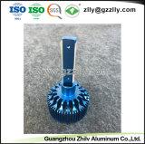 고품질은 LED 램프를 위한 주물 양극 처리한 알루미늄 방열기를 정지한다