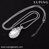 Xuping-00431 Collar de diamantes de imitación de la boda de Corea para la Mujer Collar de cristales de Swarovski