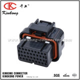 34 conetores elétricos automotrizes fêmeas do Pin ECU 4-1437290-0