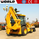 Machine de construction de la chargeuse pelleteuse de tracteur