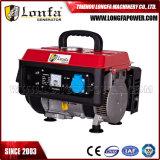 700W Portable Mini gerador a gasolina para uso doméstico