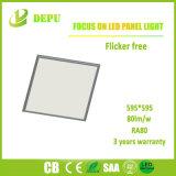 Großhandels-SMD4014 eingehangene Oberflächeninstrumententafel-Leuchte 48W 600*600 90lm/W des Aufflackern-frei LED mit Cer, TUV, SAA