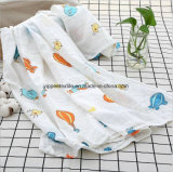 Super weicher Baumwollmusselin Swaddle