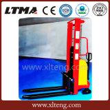 Levantador manual/eléctrico del producto caliente de Ltma del apilador de la paleta