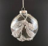 De Decoratie van Kerstmis met de Bal van het Glas (lcp-a-0004)