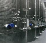 Réservoir de stockage de jus de lait de réservoir d'avoirs d'acier inoxydable