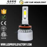 Indicatore luminoso dell'automobile di H4 H7 H11 LED, faro dell'automobile LED