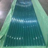 温室のための930#薄緑のポリカーボネートの波形シート