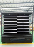 Открытые поверхности воздушного охладителя холодильный прилавок шторки дисплей