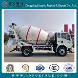 Camion de mélangeur concret de Sinotruk 6m3 à vendre
