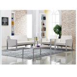 Oficina monoplaza sofá con mesa de café de media para la recepción se mezclan muebles