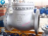 El acero de carbón del estruendo ensanchó la válvula de verificación no de vuelta de oscilación
