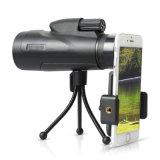 (KL10061) 12X50 Telescópio impermeável para Mobil Telefone, Mini telescópio de bolso