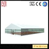 Tienda de acero del almacén 30X30 de la cubierta Q235 de la fábrica PVDF de China con la estructura permanente
