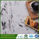 흑백 인공적인 잉크 세척 색칠 석영 돌