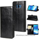 Крышка случая телефона бумажника кожаный для iPhone etc Samsung Huawei