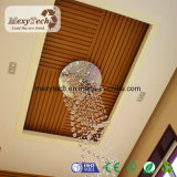 Plafond d'intérieur en bois ignifuge de PVC du composé WPC