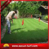 Césped sintetizado cómodo de la hierba del animal doméstico de la alta calidad
