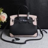 Sacos de Tote populares do couro genuíno da bolsa do desenhador dos produtos do tipo 2 sacos de ombro do tamanho para as senhoras Emg5195