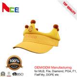 Cappelli su ordinazione di inverno del bambino della visiera di Sun del ricamo di marchio di alta qualità
