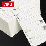 Escrituras de la etiqueta frías directas de la logística de las escrituras de la etiqueta de envío del área fría del transporte del papel termal