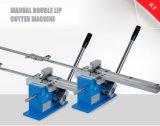 手動精密規則の二重リップのカッター機械はのための刃を停止する
