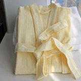 Bathrobes relativos à promoção do hotel/os Home do algodão do Waffle/pijamas/Nightwear/roupa de noite