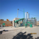 Jnc-10高い収穫の無駄の円滑油オイル処理機械、ディーゼル燃料への黒いオイルの再生機械